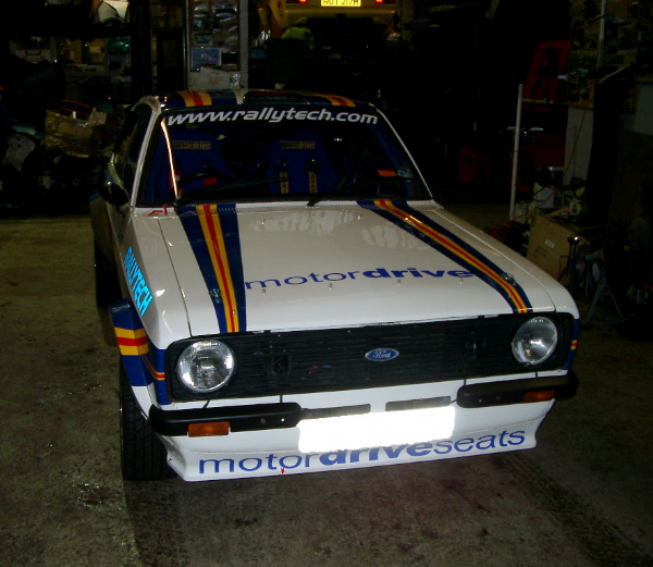 Ford Escort Mk 2 GRP Bonnet. RT0208/FE